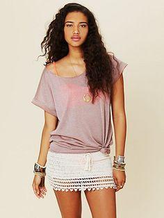 Marrakesh Crochet Skirt
