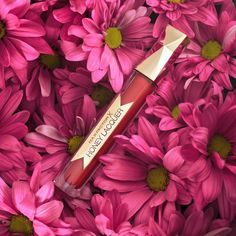 Honey Lacquer in shade Floral Ruby Max Factor, Floral, Instagram Posts, How To Make, Beauty, Hue, Sparkle, Lips, Flowers