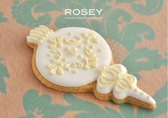 Xmas Icing cookie lesson 2011-1 by rosey sugar, via Flickr