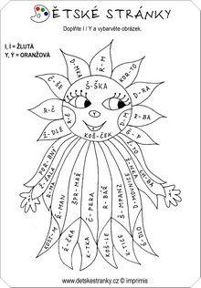 Měkké a tvrdé souhlásky Rooster, Homeschool, Language, Education, Petra, Animals, Literatura, Animales, Animaux