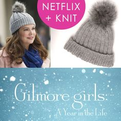 How to Knit a Hat Inspired by Gilmore Girls   Netflix and Knit