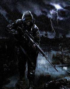 снайпер сталкер - Галерея по Survarium, Stalker 2, Metro, Новый Союз и Постапокалипсис