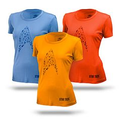 ThinkGeek :: The Cadet Ladies' Athletic Shirt - I have to get one of these! They're amazing.