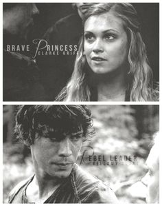 The 100 - Bellamy & Clarke. Yes, I ship them. I see so much potential in it (and yeah, he's hot, sue me), but I'm worried it won't happen.