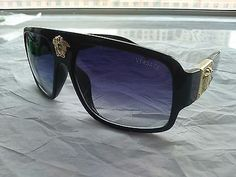 4d1d08bdeff Versace Men s Black Sunglasses Black Sunglasses