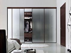 Trend Wardrobe Sliding Door Bedroom ~ Luxury Frosted Glass Sliding Door Wardrobe Design