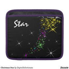 Christmas Star iPad Sleeves