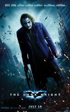 """The Joker in The Dark Knight (Film """"Why so serious?"""" This week, Todd, Joe, and special guest Henry Darowski talk about The Joker in the 2008 film The Dark Knight. Joker Dark Knight, The Dark Knight Poster, The Dark Knight Trilogy, The Dark Knight Rises, Dark Knight Returns, Joker Poster, Michael Keaton, Love Movie, Movie Tv"""