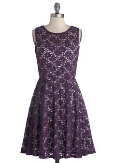 Topiary Artist Dress in Plum. Clad in this dress of plum purple, you snip stems and trim twigs, expertly sculpting your garden greenery into works of organic art. #purple #wedding #bridesmaid #modcloth