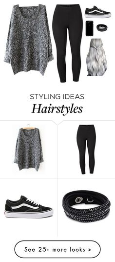 """""""Untitled #4904"""" by if-i-was-famous1 on Polyvore featuring Venus, Vans, Speck, Swarovski and plus size clothing"""