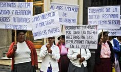 Peruvian women intent on bringing state to book over forced sterilisations