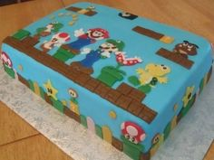 Mario Cake By kimagination on CakeCentral.com