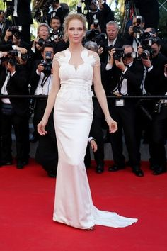 Uma Thurman - La alfombra roja del Festival de Cannes 2014