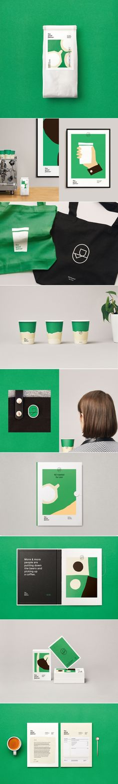 The Good Patron coffee branding by Marx Design Coffee Shop Branding, Cafe Branding, Branding Agency, Brand Identity Design, Design Agency, Branding Design, Branding Ideas, Label Design, Package Design