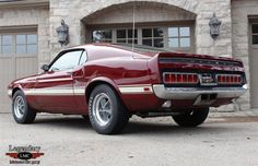 1969 Mustang Shelby GT500