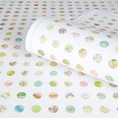 Map Dots Luxury Heavyweight Wrapping Paper by Bombus, the perfect gift for Explore more unique gifts in our curated marketplace. Print Wrapping Paper, Gift Wrapping, Leaving Gifts, Heart Map, Mini Heart, Paper Dimensions, New Home Gifts, Circles, Gift Tags