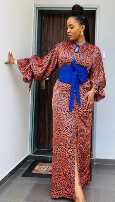 Ankara Skirt And Blouse, African Maxi Dresses, African Fashion Ankara, Latest African Fashion Dresses, African Dresses For Women, African Print Fashion, African Attire, Ankara Dress Designs, African Traditional Dresses