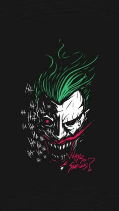 Batman Wallpaper, Graffiti Wallpaper, Avengers Wallpaper, Wallpaper Art, Joker Comic, Joker Art, Joker Poster, Joker Images, Joker Pics