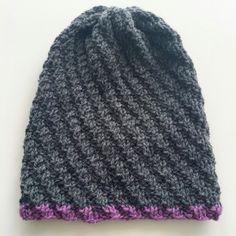 Hue med vri - litlo & kalen Hue, Knitted Hats, Beanie, Knitting, Fashion, Moda, Tricot, Knit Caps, Breien