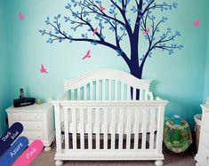 Bébé Nursery mur décoration autocollant murale avec par StudioQuee