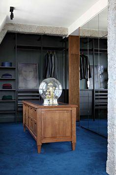 House tour: a luxury hotel suite-like home by Studio KO - Vogue Living Loft Design, Design Studio, House Design, Walk In Wardrobe, Walk In Closet, Wardrobe Doors, Wardrobe Cabinets, Paris Loft, Interiors