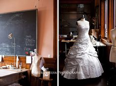 custom made dress - Jill Andrews  www.murielsilvaphotography.com