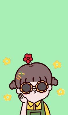 Cute Pastel Wallpaper, Cute Patterns Wallpaper, Kawaii Wallpaper, Cute Wallpaper Backgrounds, Wallpaper Iphone Cute, Cute Cartoon Wallpapers, Cute Cartoon Drawings, Cartoon Art Styles, Cool Art Drawings