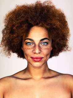 """Photographer Brock Elbank has sought out """"incredible-looking humans†for  his photo 04bc4bd1ce7c"""