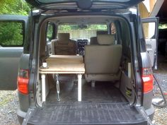 Foldable sleeping platform - Honda Element Owners Club Forum