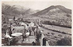 Seyne-les-Alpes Vintage - Terrasse de l'Hôtel Belle Vue