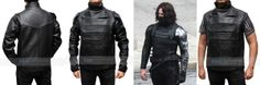 #TheCaptainAmerica Winter Soldier we at Desert Leather have finally created the accurate replica of the fabulous Bucky Barnes Leather Vest. http://www.fanjackets.com/Products/Captain-America-The-Winter-Soldier-Bucky-Vest.html #mens #swag #sales #deals #shopping #mensfashion #clothing #cosplay #celebs #celeb