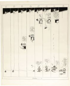Original Krazy Kat Sunday strip by George Herriman, originally published by King Features Syndicate, September 17, 1919.