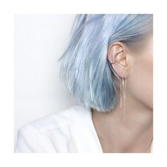 24 Photos of Blue Hair Color That Blow Us Away 2018 Dye My Hair, New Hair, Hair Inspo, Hair Inspiration, Pelo Color Azul, Mode Grunge, Corte Y Color, Rainbow Hair, Pretty Hairstyles