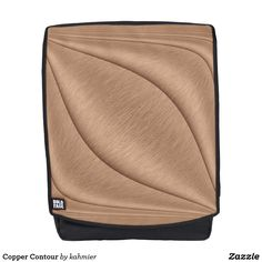 Copper Contour Backpack 15% Off #zazzle www.leatherwooddesign.com