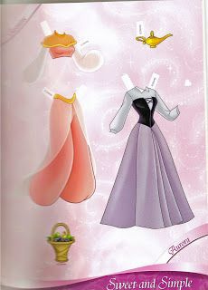 Miss Missy Paper Dolls: All Dressed Up Disney Princess Paper dolls Part 1