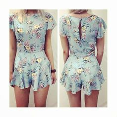 So cute! Diy I finaly found a legitamate excuse to buy those skimpy dresses from forever 21, just make it into a romper.