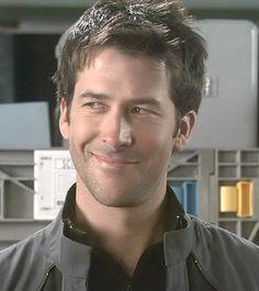John Sheppard, Stargate Atlantis.  Played by Joe Flanigan
