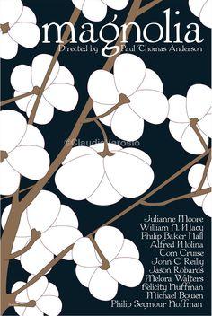 Magnolia (1999) - Minimal Movie Poster by Claudia Varosio #minimalmovieposter #alternativemovieposter #90smovies #claudiavarosio