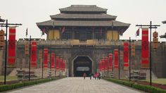 The Epang Palace was created by 700,000 workers and displays the architectural beauty and genius of the Qin Dynasty. This palace also shows the superiority of the emperor, Qin Shi Huang, and how highly he though of himself.