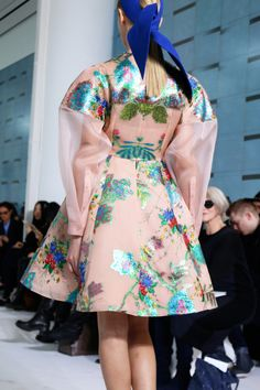 Delpozo Fall/Winter 2015 photographed by Taylor Aube