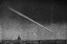 The people embraced fear that Day of Judgment might press in the impressive comet.