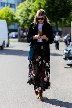 Ana Kinsella on the best scandinavian fashion brands - Skandinavisch Copenhagen Style, Copenhagen Fashion Week, Scandinavian Fashion, Street Style 2017, Cool Street Fashion, Street Chic, Layering Outfits, Spring Fashion, Fashion 2016