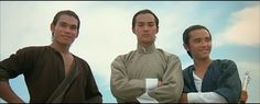 Chen Kuan-Tai (left), Ti Lung (middle), David Chiang (right).... Blood Brothers 1973