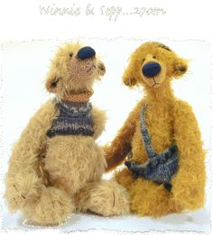 Winnie & Sepp  http://www.finhold.de/teddy-bear-information.htm