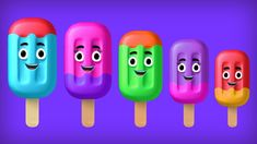 """Watch and enjoy """"Ice cream finger family Song"""" nursery rhyme for children. Lyrics: Daddy finger, daddy finger, where are you? Sister Finger, Mommy Finger, Finger Family Song, Family Songs, Baby Finger, Kids Songs, Lollipop Candy, Kids Nursery Rhymes, Ice Cream Candy"""