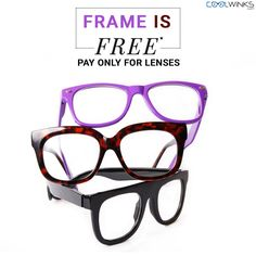 special sale to start off your weekend visit coolwinks get every eyeglass frame for - Discount Eyeglass Frames