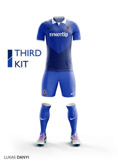 I designed football kits for Sparta Praha for the upcoming season 16/17.