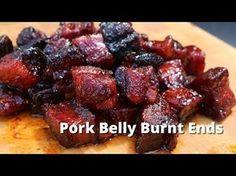 Pork Belly Burnt Ends - Smoked Pork Belly Recipe