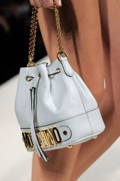 Little Sack-bags are an absolute must-have of the season. Appeared on fashion shows like Chloé, Moschino, Agnes B and Etro.