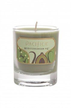 : Pacifica Mediterranean Fig Soy Candle Glass: